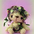 Handmade bears from Teddy Bear Orphans - Fayette fairy by Penny Bonser