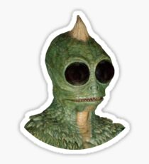 Sleestak - Land of the Lost fan art Sticker