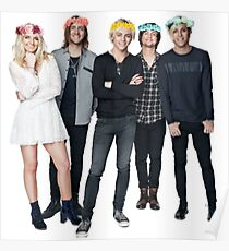R5 Flower Crown Group Shot Poster