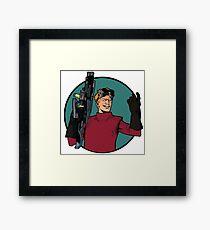 dr h Framed Print