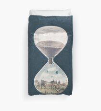 The City Where Time Stopped Long Ago Duvet Cover