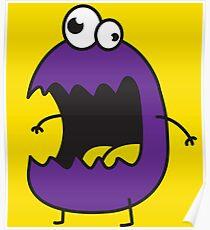 Little Purple Monster Poster