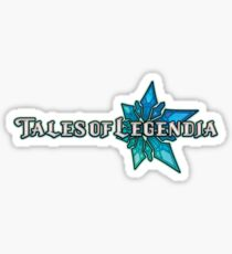 Tales of Legendia logo Sticker