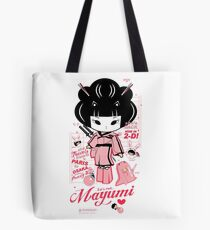 Mayumi in 2D Tote Bag