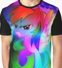 Rainbow Dash Super Colour Graphic T-Shirt