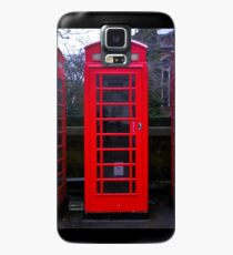 Telephone Box Case/Skin for Samsung Galaxy