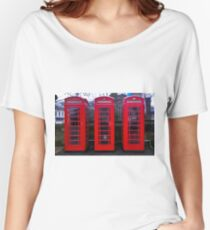 Telephone Box Women's Relaxed Fit T-Shirt