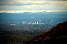 Albany from Thacher Park by ValeriesGallery