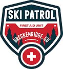 Breckenridge Colorado Skiing Ski Patrol Mountain Art by MyHandmadeSigns