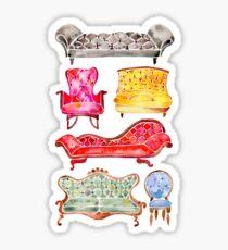 Victorian Lounge – Rainbow Palette Sticker