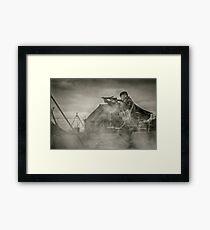 British WWII Soldier Framed Print
