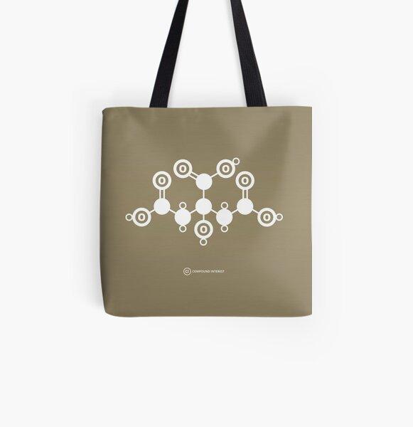 Citric Acid All Over Print Tote Bag