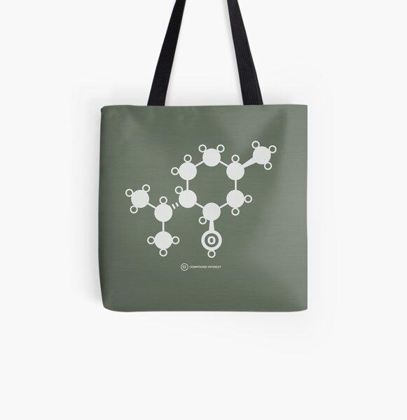 Menthol All Over Print Tote Bag