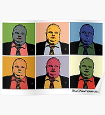 Rob Ford Tribute Poster