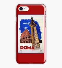 Vintage Roma Rome Italian travel iPhone Case/Skin