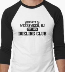 Property of Weehawken NJ Dueling Club Men's Baseball ¾ T-Shirt