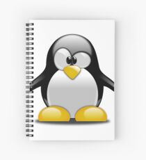 Cute Penguin  Spiral Notebook