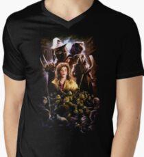 TMNINETY Men's V-Neck T-Shirt