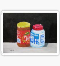 Peanut Butter and Fluff Sticker