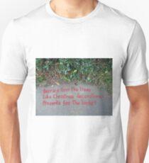 Holly Berry Haiku T-Shirt