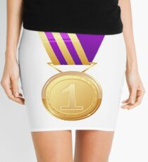 Gold medal number one Mini Skirt