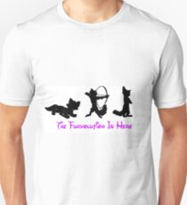 The Furvolution is here - Todd, Robin Hood and Nick Wilde Unisex T-Shirt