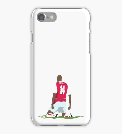 Thierry Henry at White Hart Lane iPhone Case/Skin