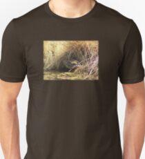 Female Mallard Nesting in Pond T-Shirt