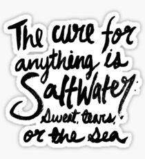 Saltwater Sticker