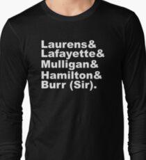 Hamilton Revolutionaries (white) Long Sleeve T-Shirt