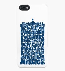 Full of Miracles (blue) iPhone SE/5s/5 Case