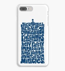 Full of Miracles (blue) iPhone 7 Plus Case