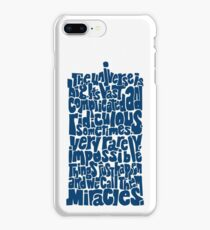 Full of Miracles (blue) iPhone 8 Plus Case
