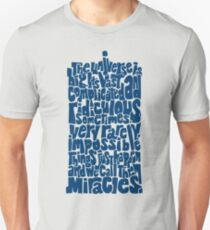 Full of Miracles (blue) Unisex T-Shirt
