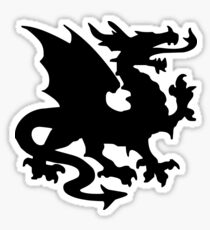 Heraldic dragon Sticker