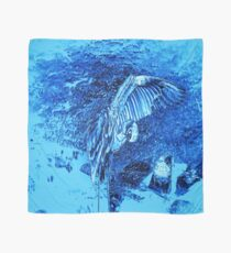 Blue Egret at Midnight Scarf