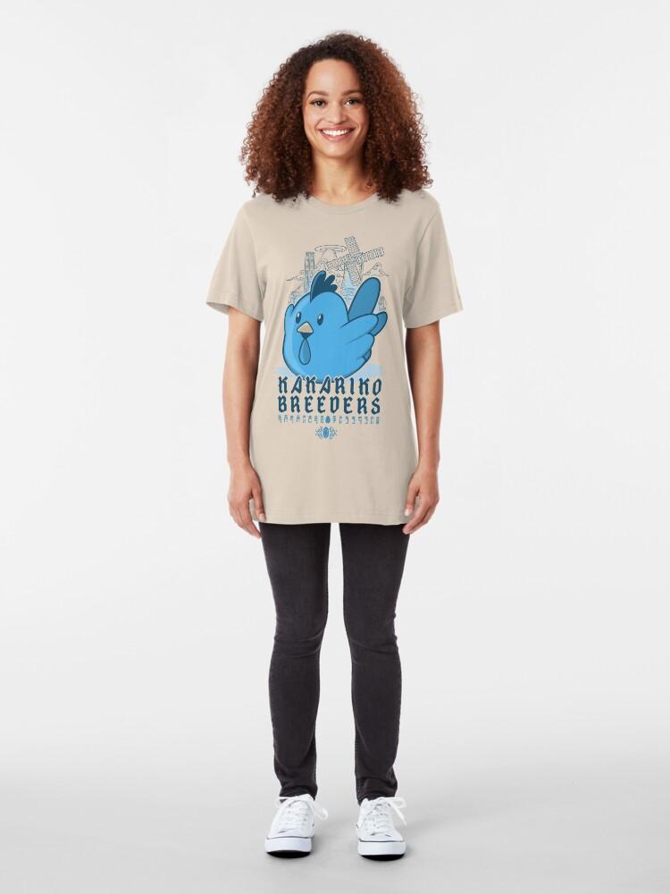 Vista alternativa de Camiseta ajustada Criadores de Kakariko