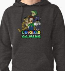 Luigikid Gaming and Co. Pullover Hoodie