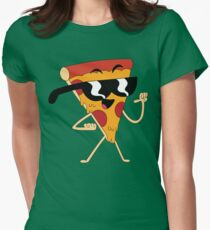 It's Pizza Steve! Womens Fitted T-Shirt