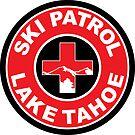 LAKE TAHOE Skiing Ski Patrol Mountain Art by MyHandmadeSigns