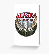 Alaska wilderness  Greeting Card
