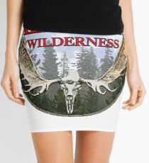 Alaska wilderness  Mini Skirt