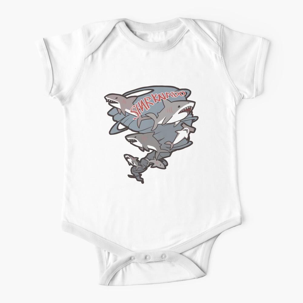 Cute Sharknado Baby One-Piece