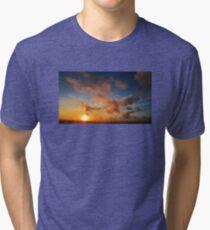 Sunset Beach 2 Tri-blend T-Shirt