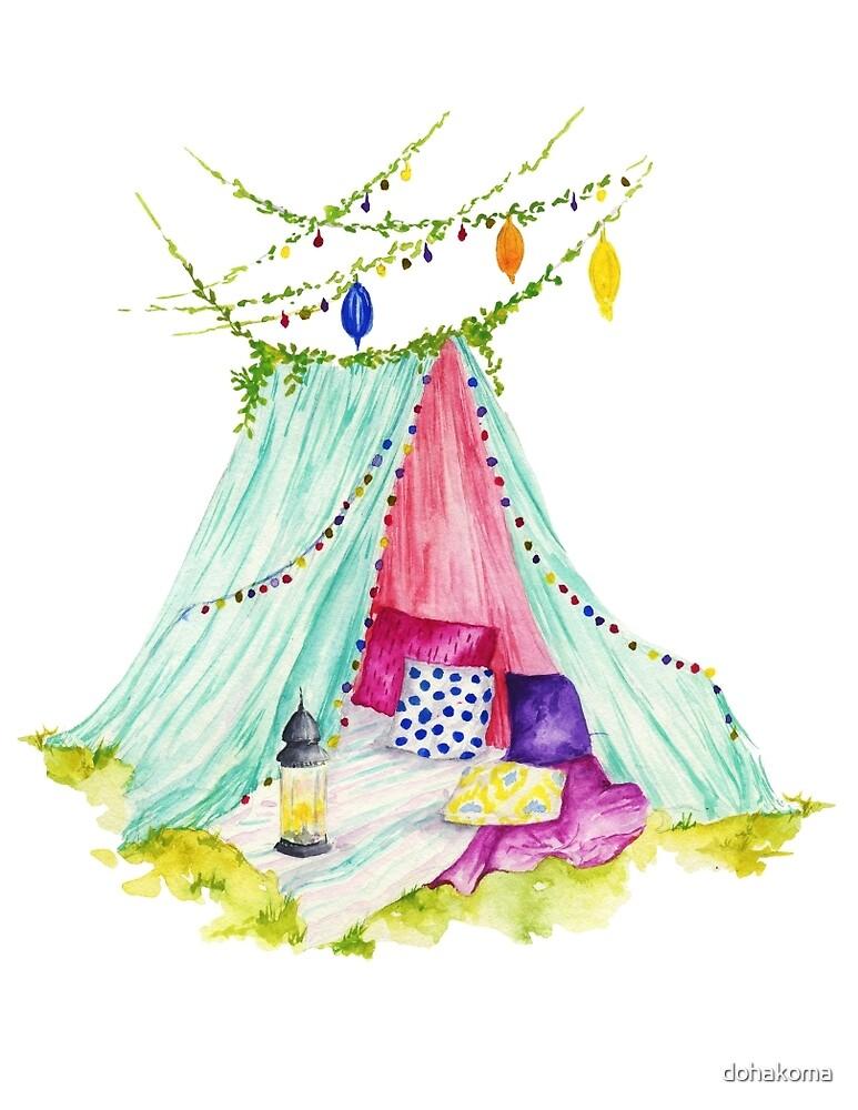 Spring Camping  by dohakoma