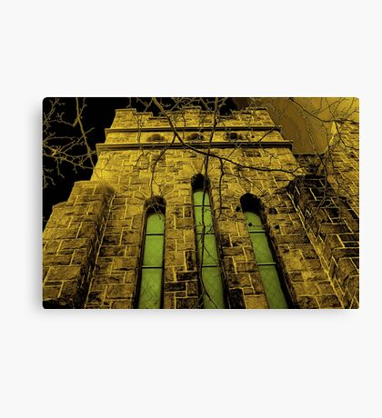 Gothic Elements Canvas Print