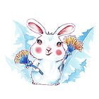 Dandelion Bunny by Willow Heath