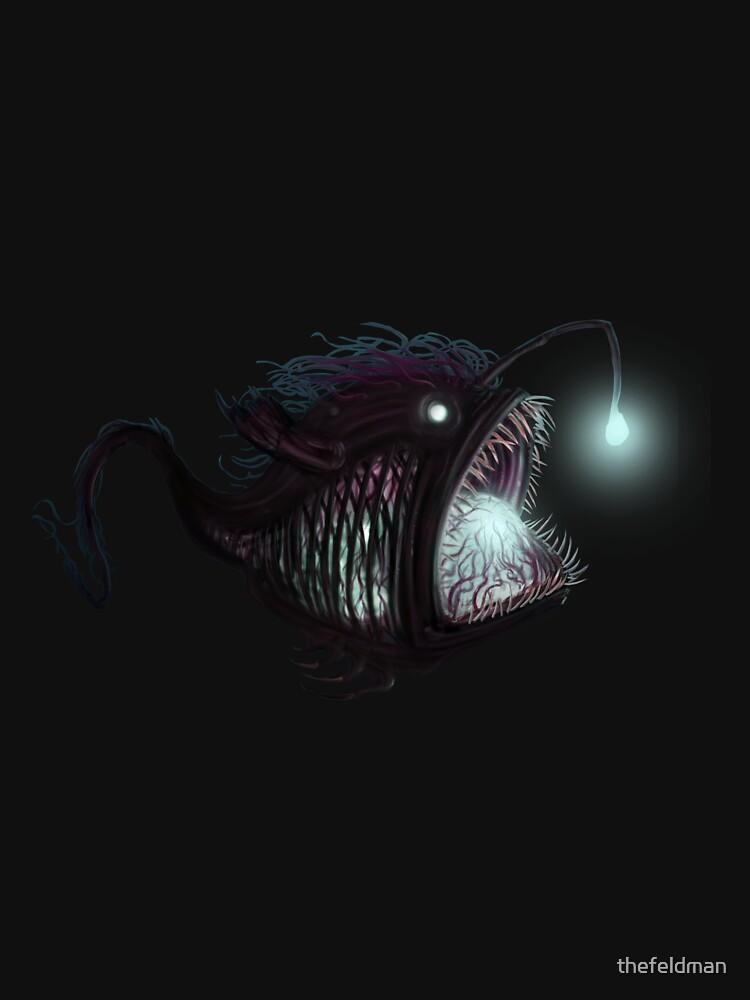 Deep sea angler - Diceratias nassa by thefeldman