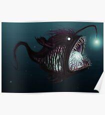 Deep sea angler - Diceratias nassa Poster