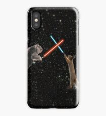 Star Wars the Koala strikes back iPhone Case